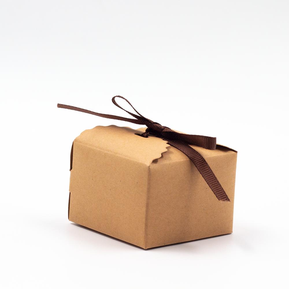 صندوق الهدية البني